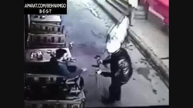 ترکیه.قتل فجیع در خیابان...