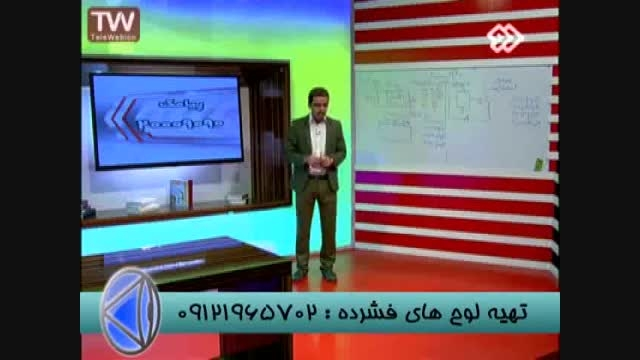 حل تست خازن با تکنیک های مهندس مسعودی -قسمت   (6)