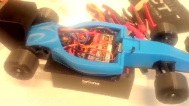 ساخت ماشین مسابقه فرمول وان کنترلی با پرینتر سه بعدی