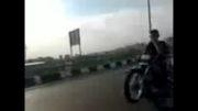بچه های عبدل آباد تک چرخ منطقه 19  ابی یه چرخ