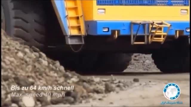 برینگ های به کار رفته در کامیون های غول پیکر معدن