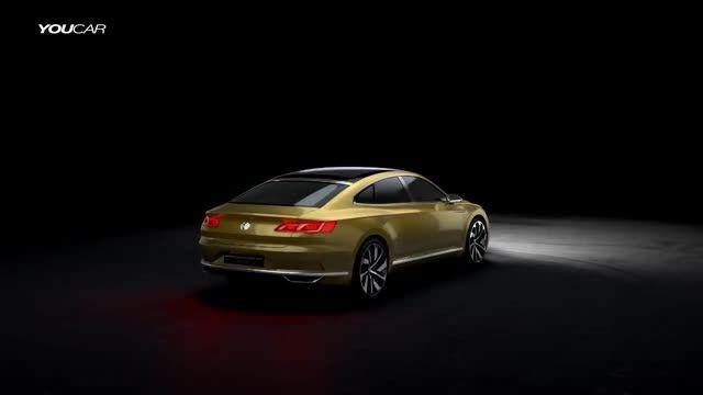 تیزر رسمی فولکس واگن - Volkswagen Sport Coupé Concept