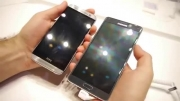 Galaxy Note 4 vs HTC One M8- early speed comparison