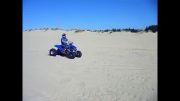 موتور 4 چرخ GSX 1000 توربو در تپه های شنی