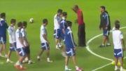 بدل رونالدینهو در زمین تمرین آرژانتین در جام جهانی 2014