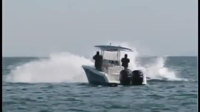 ضربه فنی ماهیگیران و کله معلق شدن قایقشان با حمله ماهی