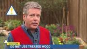 آموزش ساختن باغچه چوبی زیبا