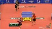 بازی دوبل (Ma Long_Timo Boll vs Wang Hao_Quentin Robinot)