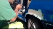 رنگ كردن خودرو بدون اسپری رنگ