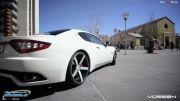 تیونینگ مازراتی با رینگ ووسن - Maserati Granturismo Vossen