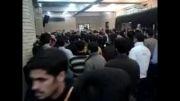 ورود پیکر آیت الله مهدوی کنی به مسجد دانشگاه امام صادق