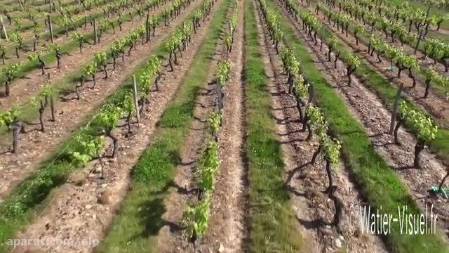Vidéo aérienne de l'Abbaye saint Maur entre Loire et Vi