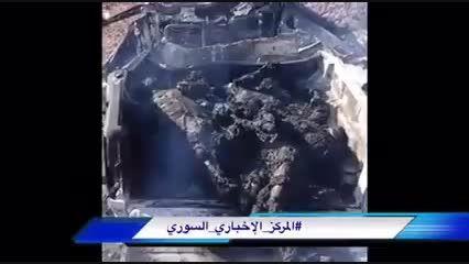تروریست های سوریه پس از افتادن در کمین ارتش سوریه
