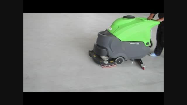 دستگاه کف شور - زمینشور صنعتی - اسکرابر CT90