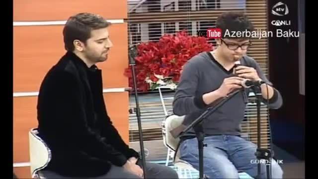 سامی یوسف-اجرای ترانه ساری گلین درشبکهATV آذربایجان2015