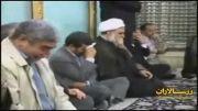 حضور دکتر احمدی نژاد و محمود کریمی در حرم حضرت رقیه (س)