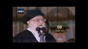 سخنان شجاعانه ولی امر مسلمین جهان خطاب به آمریکا!!!