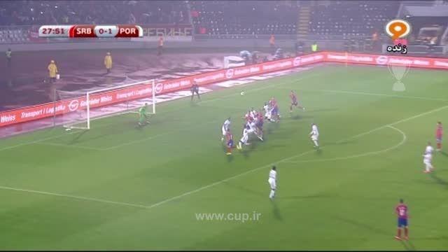 خلاصه بازی؛ صربستان ( 1 ) - پرتغال ( 2 )