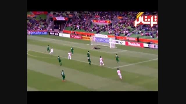 خلاصه بازی: کره شمالی ۱-۴ عربستان