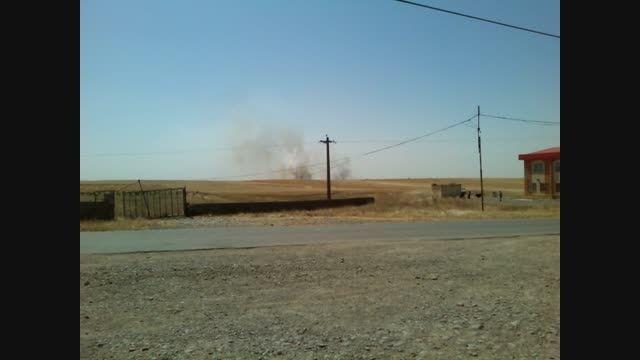 آتش سوزی زمین های زراعی خلیفه لو