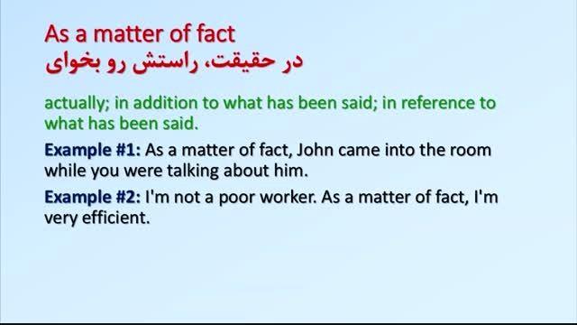 اصطلاحات زبان انگلیسی (1) idioms in english
