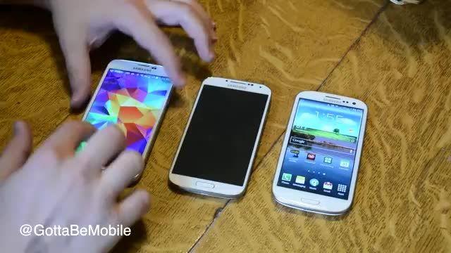 مقایسه Galaxy S3 , Galaxy S4 , Galaxy S5