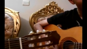 قطعه ای بسیار زیبا و آرامش بخش با گیتار