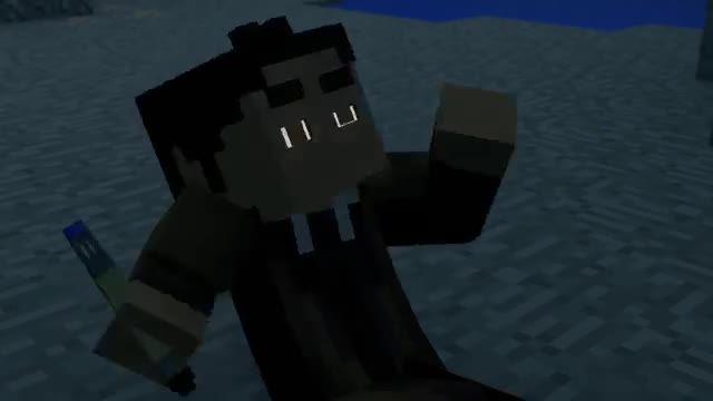 !!minecraft animation:ep 1(doctor who visit minecraft
