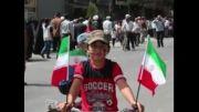 پوشش امدادی و شرکت در مراسم راهپیمایی روز جهانی قدس توس