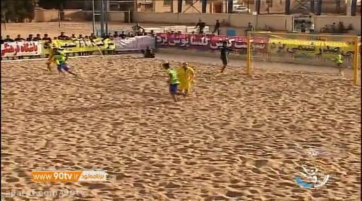 حواشی قهرمانی گلساپوش یزد در لیگ فوتبال ساحلی کشور