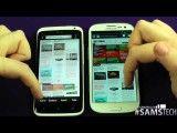 Samsung Galaxy S3 vs HTC One X - Browser Speed / Performance