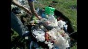 جمع کردن زباله های 13 بدر