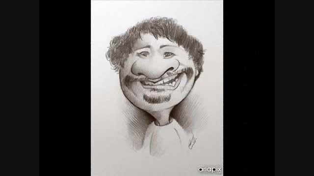 کاریکاتور سوپراستارها