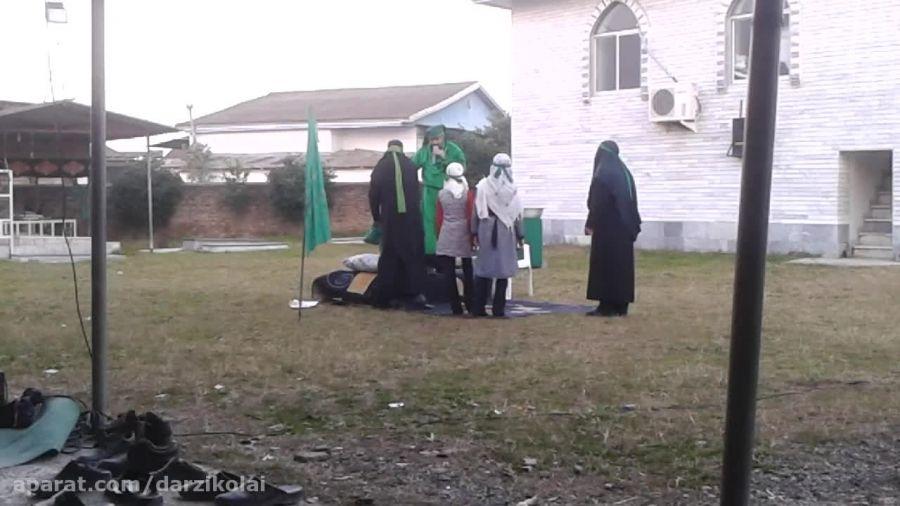 تعزیه ی حضرت ابوالفضل (ع) در روستای درزیکلاآخوندبابا
