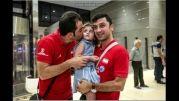 بازگشت تیم ملی والیبال به ایران
