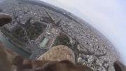اکشن کم سونی سوار بر یک عقاب بر فراز پاریس - زومیت