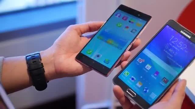 Lenovo Vibe X2 Pro vs Samsung Galaxy Note 4مقایسه گوشی