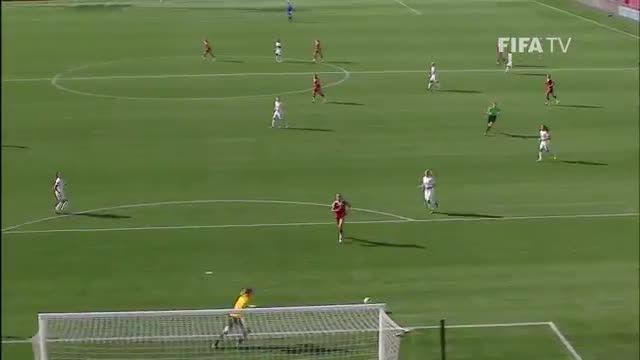 بازی : انگلیس 2 - 1 مکزیک (جام جهانی زنان 2015 کانادا)