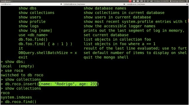 Learning MongoDB from scratch with PHP