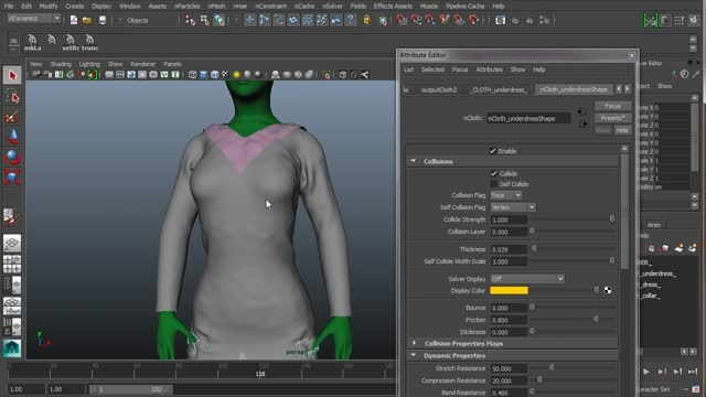 Creating Costumes for Production in Maya