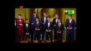 مراسم انتخاب بهترین بازیکن سال 2013 جهان کریستین رونالدو