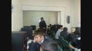 کارگاه آموزشی رایانه با حضور دانش آموزان پایه هفتم