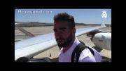 تمرینات رئال مادرید در لس آنجلس