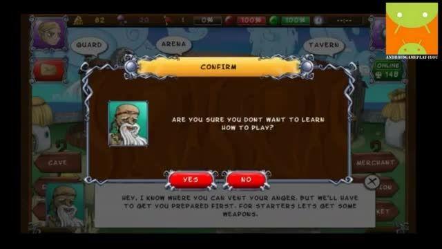 گیم پلی بازی اندرویدی Angry Heroes
