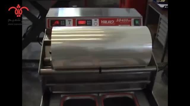 ترمو سیل ظروف یکبار مصرف رستورانی