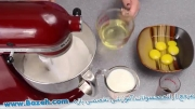 طرز تهیه کیک گور خری - کیک با طرح گورخر - بسیار زیبا