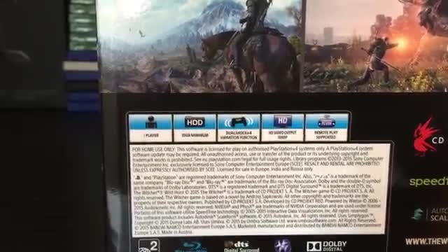 آنباکس بازی ویچر 3 | The Witcher 3