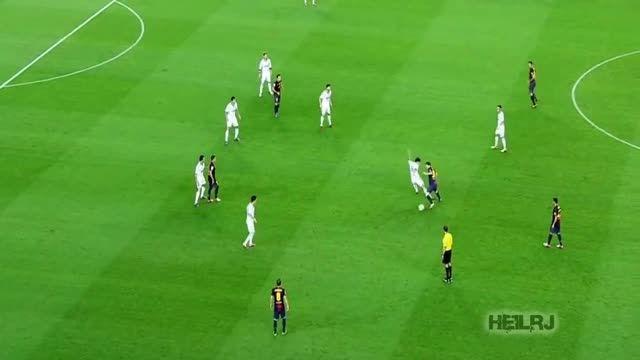 مقایسه فوق العاده دیدنی لئو مسی VS کریس رونالدو 2012/13