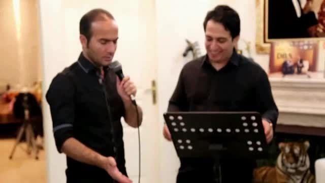 تقلید صدای خنده دار و باحال حسن ریوندی و مسلمی - طنز