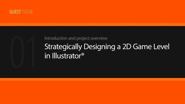 Strategically Designing a 2D Game Level in Illustrator